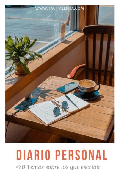 Temas para escribir diario
