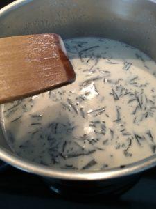 Cómo hacer hojicha latte en olla